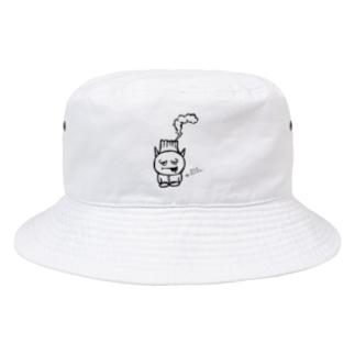 ミニ桜島ゾンビくん。なんか喰いたいがよ… Bucket Hat