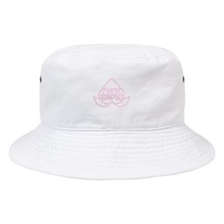 桃鴨ロゴ Bucket Hat