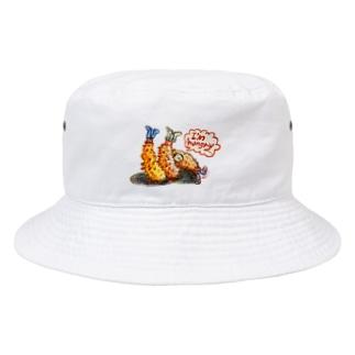 守時はるひのI'm hungry... Bucket Hat