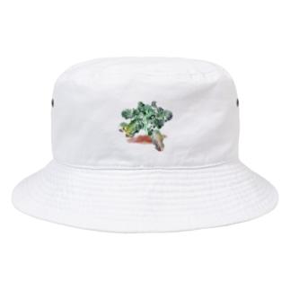 ブロッコリー Bucket Hat