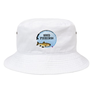 ブラウントラウト_1_C Bucket Hat