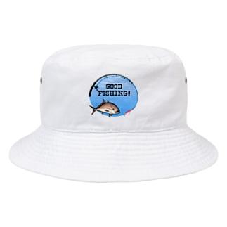 カンパチ_1_C Bucket Hat