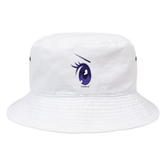 Cartoon Eye Bucket Hat