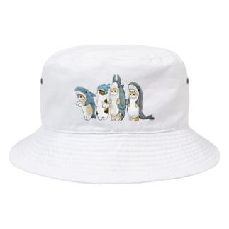 サメ図鑑 Bucket Hat
