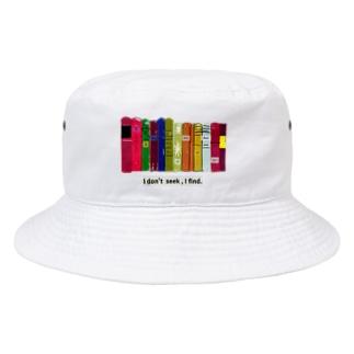 本棚とピカソ Bucket Hat