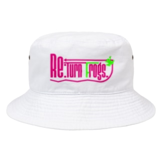 Re:Turn Frogs. Bucket Hat
