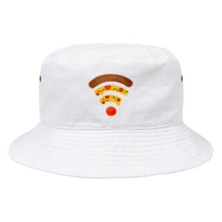 ペパロニピザのWiFi Bucket Hat