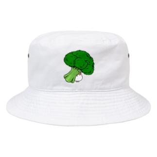 ブロッコリーきなこ Bucket Hat