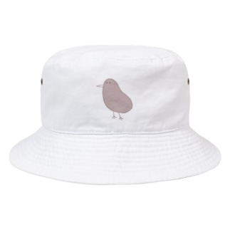 うまくかけたキウイ Bucket Hat