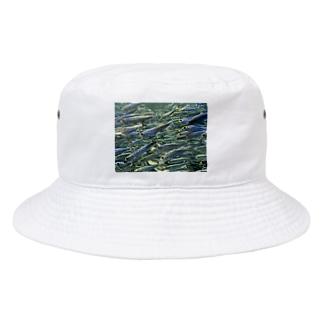 群れ Bucket Hat