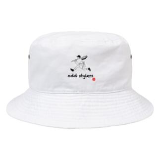 飛脚シリーズ Bucket Hat