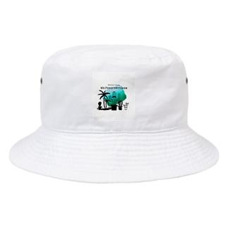 サボテン パラダイス Bucket Hat