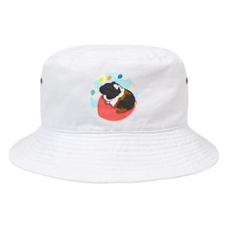 風船モルモット06 Bucket Hat