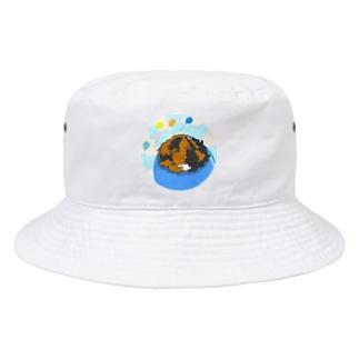 風船モルモット07 Bucket Hat