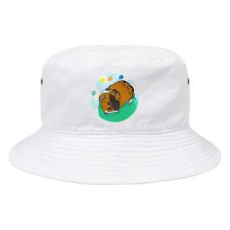 風船モルモット08 Bucket Hat