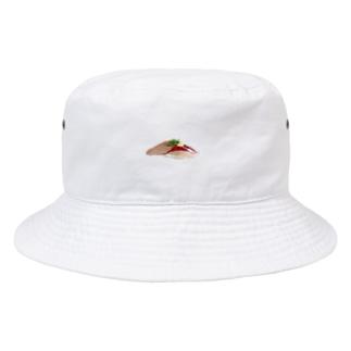 寿司 鯵 Bucket Hat
