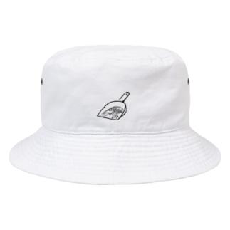 掃き溜まり(黒) Bucket Hat