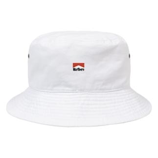 赤丸の服と帽子です Bucket Hat