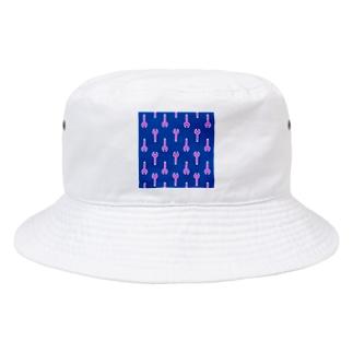 星華 -SEIKAcreate-のレンチ柄 Bucket Hat