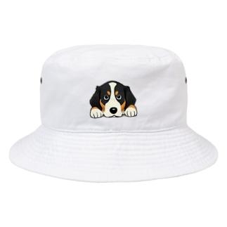 バーニーズマウンテンドッグ10 Bucket Hat