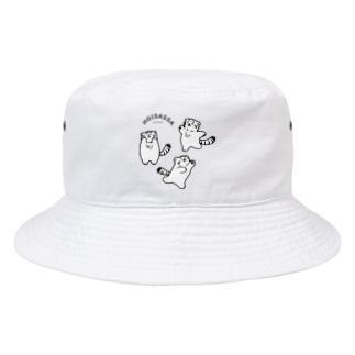 ホイサッサ三マヌ衆 Bucket Hat