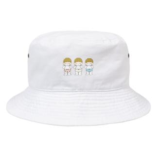 おぱんつきょうだい Bucket Hat