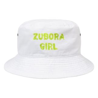 ズボラガールコレクション Bucket Hat