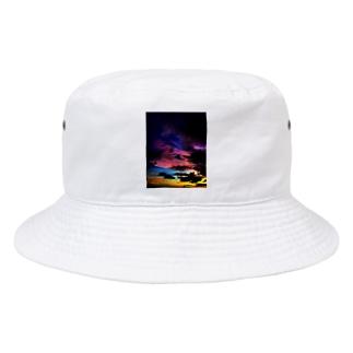夜の虹 マジックアワー Bucket Hat