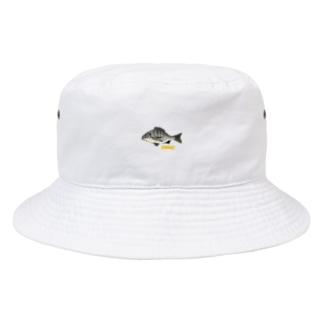 チヌくん(クロダイはん) Bucket Hat