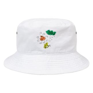 晴れのち雨のくるくる日和 Bucket Hat