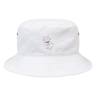お腹痛いをかわりに伝える猫 Bucket Hat