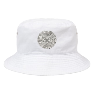 ゼンタングル Bucket Hat