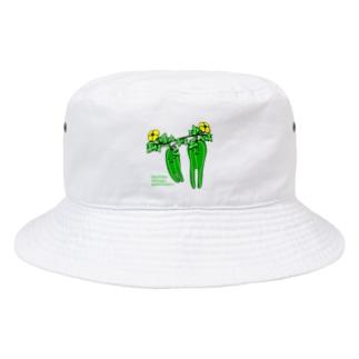 ヘチマしらず Bucket Hat