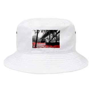 まんじゅしゃげ Bucket Hat