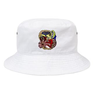 蛸の夜空 Bucket Hat
