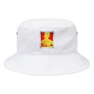 手ぶら Bucket Hat