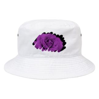 むらさき色 Bucket Hat