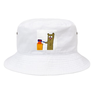 料理するくま Bucket Hat