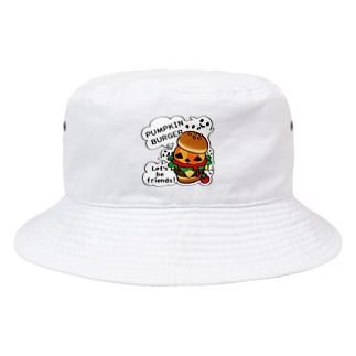 CT14 Gz かぼちゃバーガーA Bucket Hat