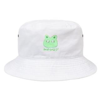 midonekoまる Bucket Hat