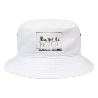 冬のはたけ Bucket Hat