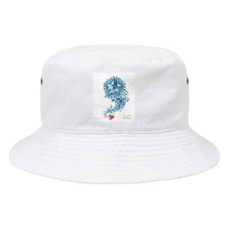 インドリヤちゃんとハート Bucket Hat