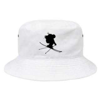 REAL SKIER Bucket Hat