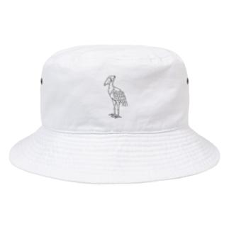 ハシビロコウ Bucket Hat