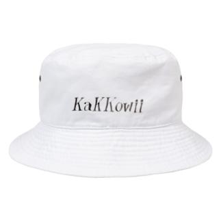 【kakkowii】カッコウィー(フォント) バケットハット Bucket Hat