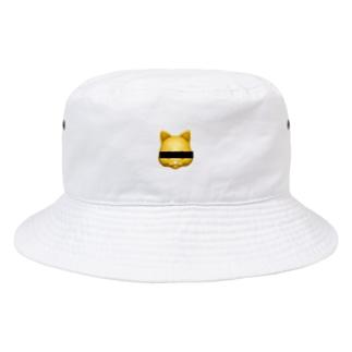 目隠し猫 Bucket Hat