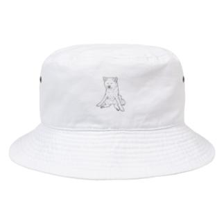 秋田犬の小梅さん Bucket Hat