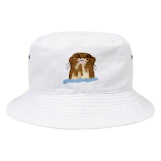 オオカワウソさん Bucket Hat