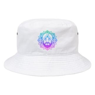 曼荼羅風ターバンさん2 Bucket Hat