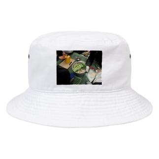 幹事長のもつ鍋 Bucket Hat
